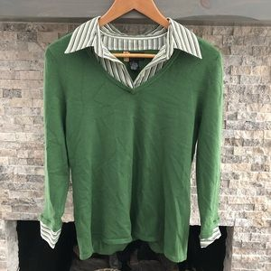 Ladies sweater business shirt